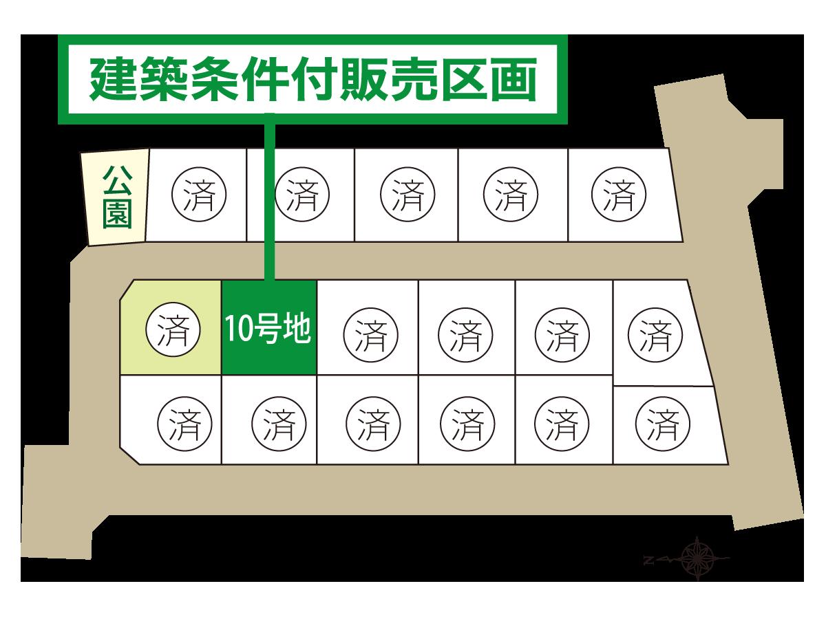 佐賀市大和町尼寺の区画図