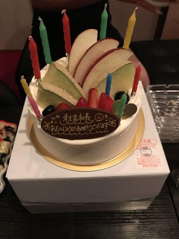 誕生日のお祝い❗️