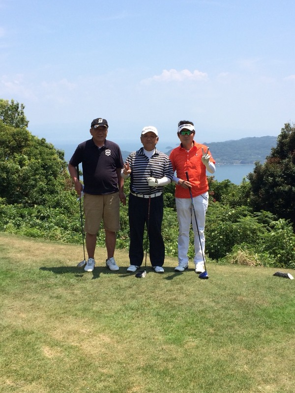 Panasonicさんと暑い中にゴルフを楽しみました(笑)
