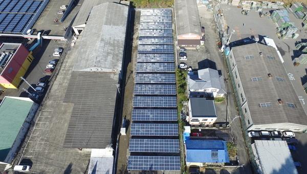 事業用太陽光発電システム工事(佐世保市U社様)