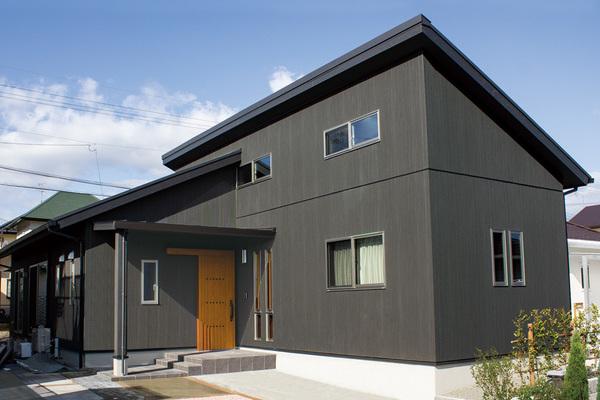 勾配天井で開放感のある平屋 鍋島モデルハウス(佐賀市鍋島町)