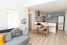 長く暮らしやすい平屋 リビングは勾配天井 広田平屋モデルハウスのサムネイル