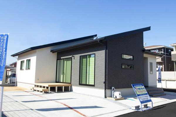 勾配天井とロフト付の平屋 尼寺建売モデルハウス(佐賀市大和町尼寺)
