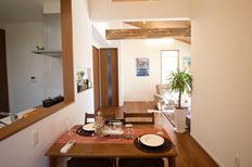 勾配天井とロフト付の平屋 尼寺建売モデルハウス(佐賀市大和町尼寺)のサムネイル