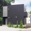四角いキューブ型の外観スタイルのお家(佐世保市S様)の画像1